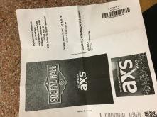 My ticket <3