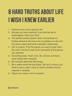 8 Truths