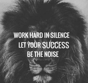 Silence is Key