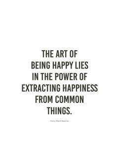 The Art of Happy