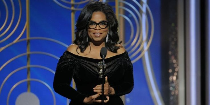 Oprah at the Golden Globes 2018